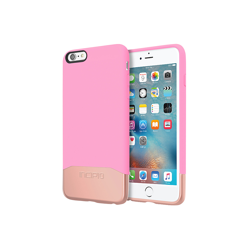 Incipio Edge Chrome for iPhone 6/6s Plus Pink/Rose Gold - Incipio Electronic Cases - Technology, Electronic Cases