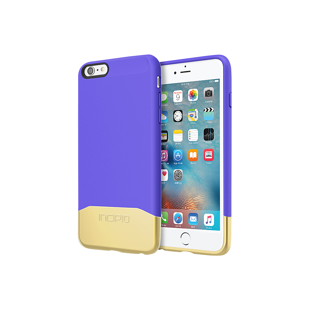 Incipio Edge Chrome for iPhone 6/6s Plus Purple/Gold - Incipio Electronic Cases - Technology, Electronic Cases