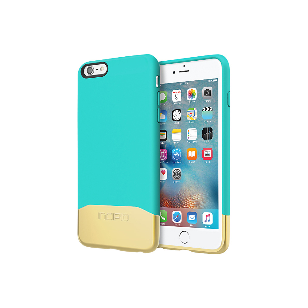 Incipio Edge Chrome for iPhone 6/6s Plus Teal/Gold - Incipio Electronic Cases - Technology, Electronic Cases