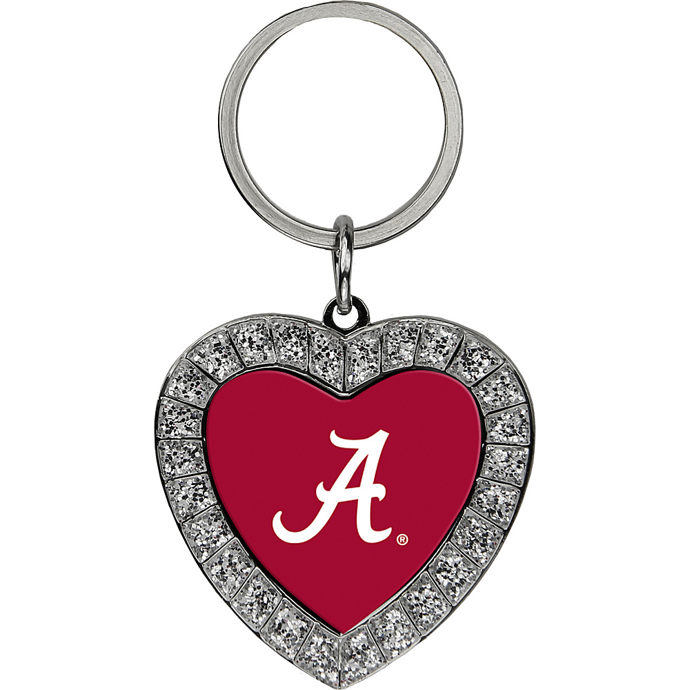 Luggage Spotters NCAA Alabama Rhinestone Key Chain Burgundy - Luggage Spotters Women's SLG Other