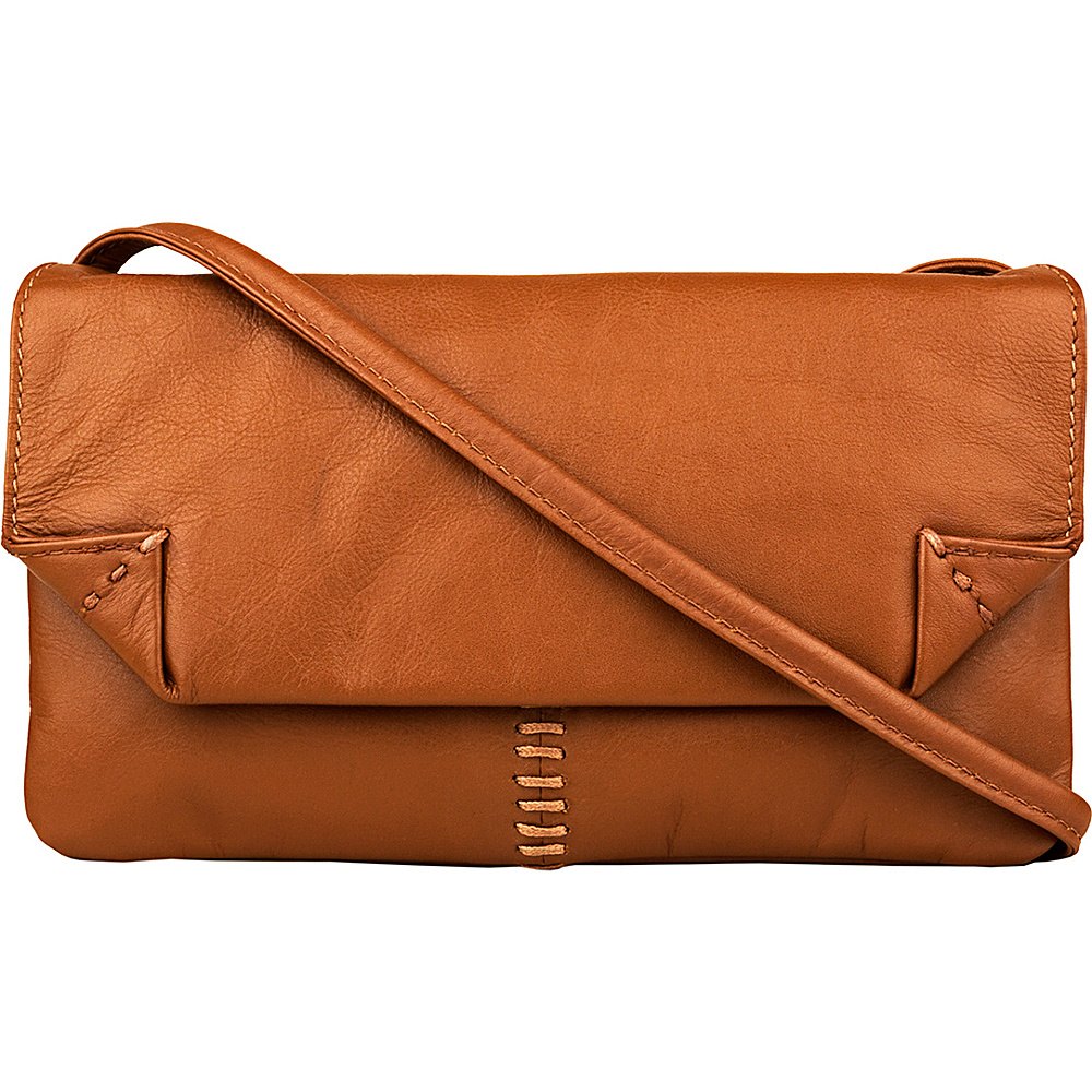 Hidesign Stitch Leather Handcrafted Cross Body Tan Hidesign Leather Handbags