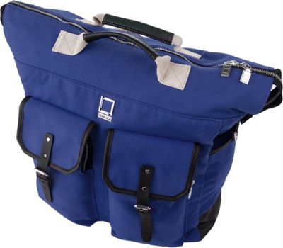 Lencca Phlox 3-in-1 Backpack Messenger Tote Bag Royal Blue - Lencca Business & Laptop Backpacks