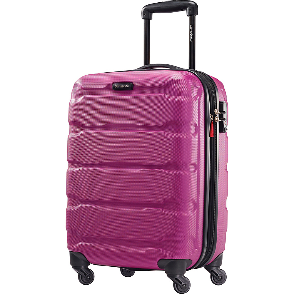 Samsonite Omni PC Hardside Spinner 20 Radiant Pink Samsonite Hardside Carry On
