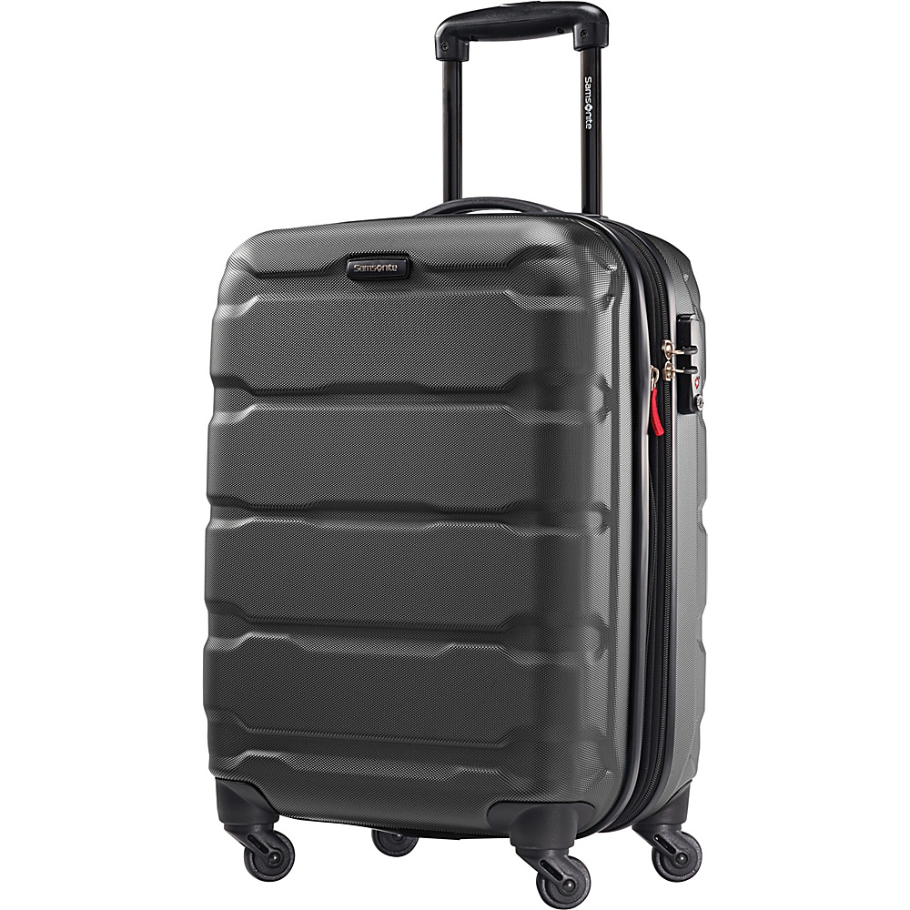 Samsonite Omni PC Hardside Spinner 20 Black Samsonite Hardside Carry On