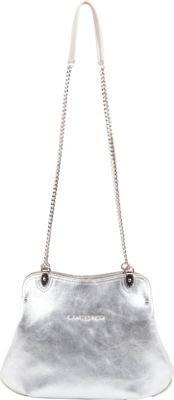 Lancaster Paris Ines Coin Pocket Bag Silver/Argent - Lancaster Paris Leather Handbags