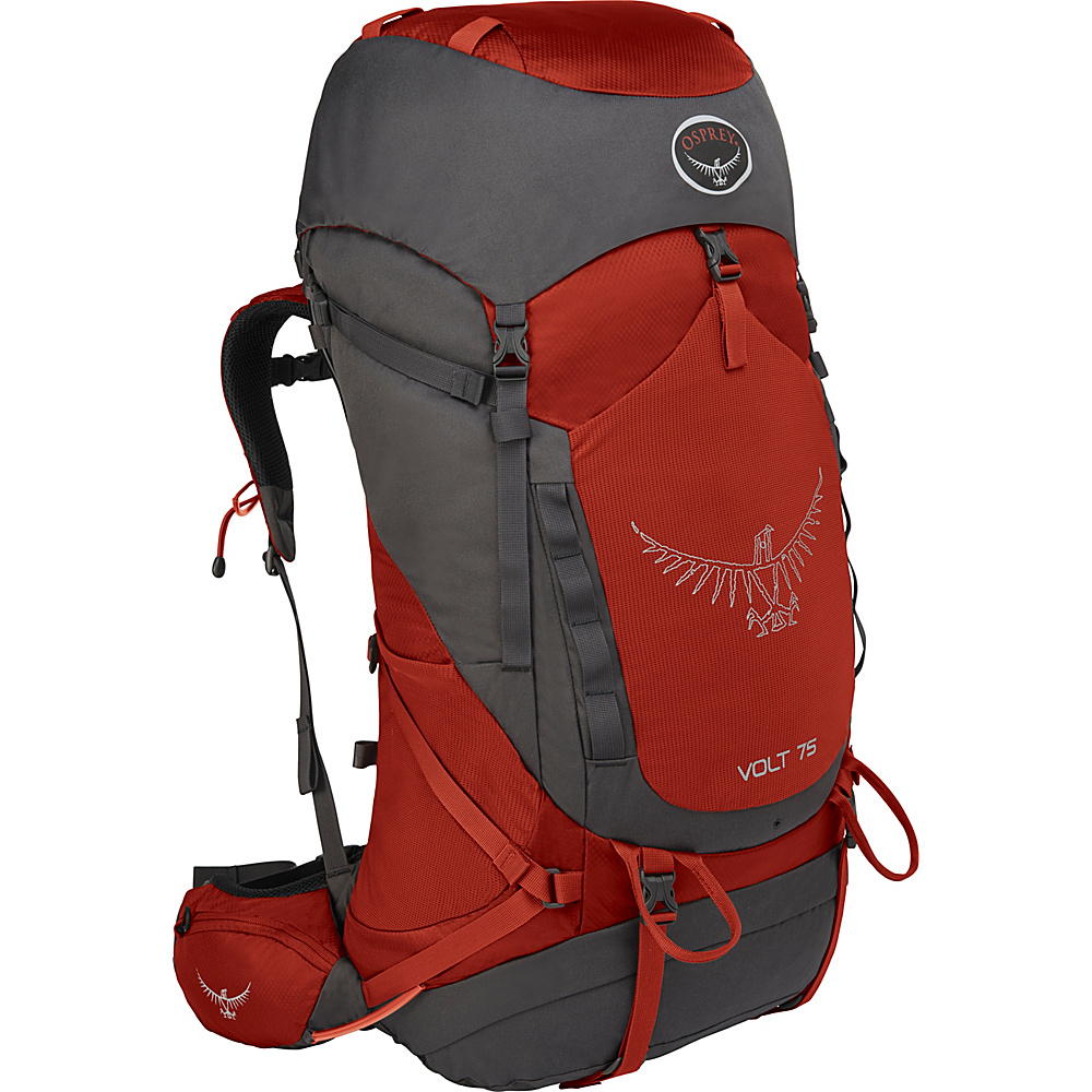 Osprey Volt 75 Hiking Backpack Carmine Red - Osprey Backpacking Packs - Outdoor, Backpacking Packs