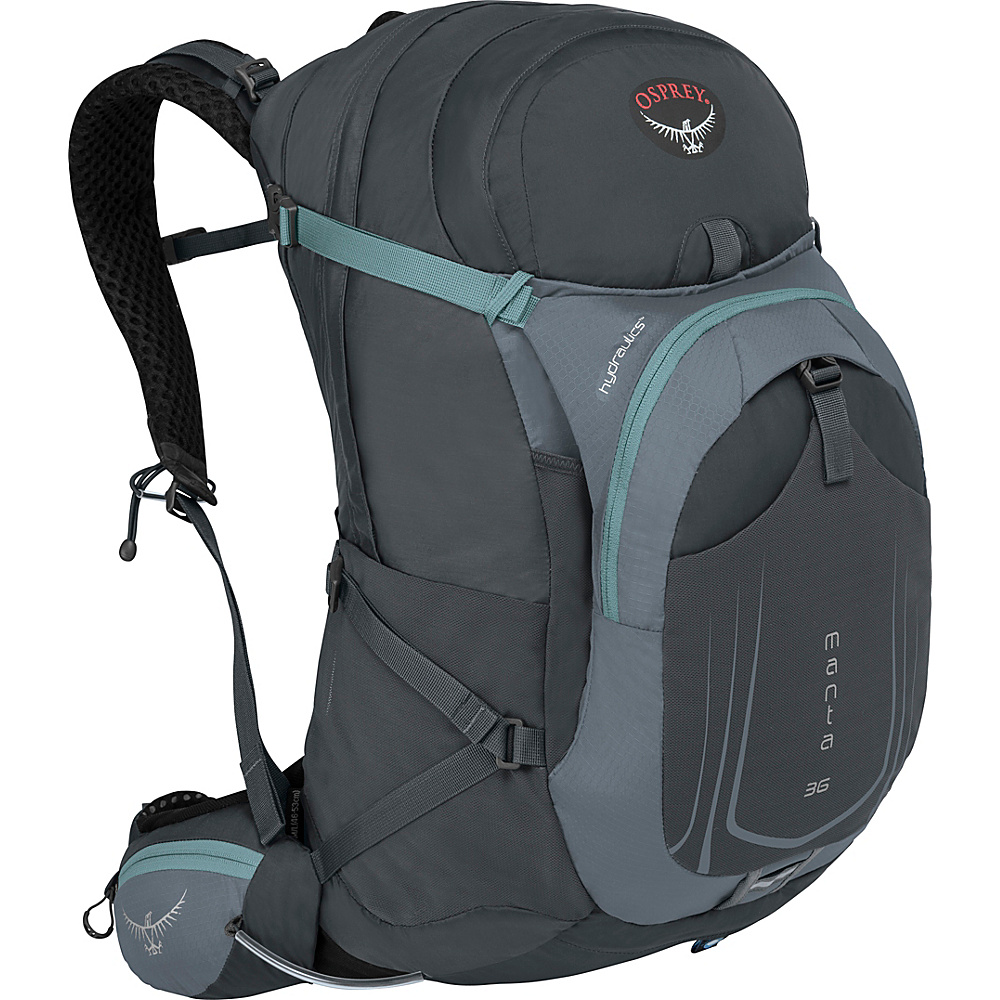 Osprey Manta AG 36 Hiking Pack Fossil Grey - S/M - Osprey Day Hiking Backpacks