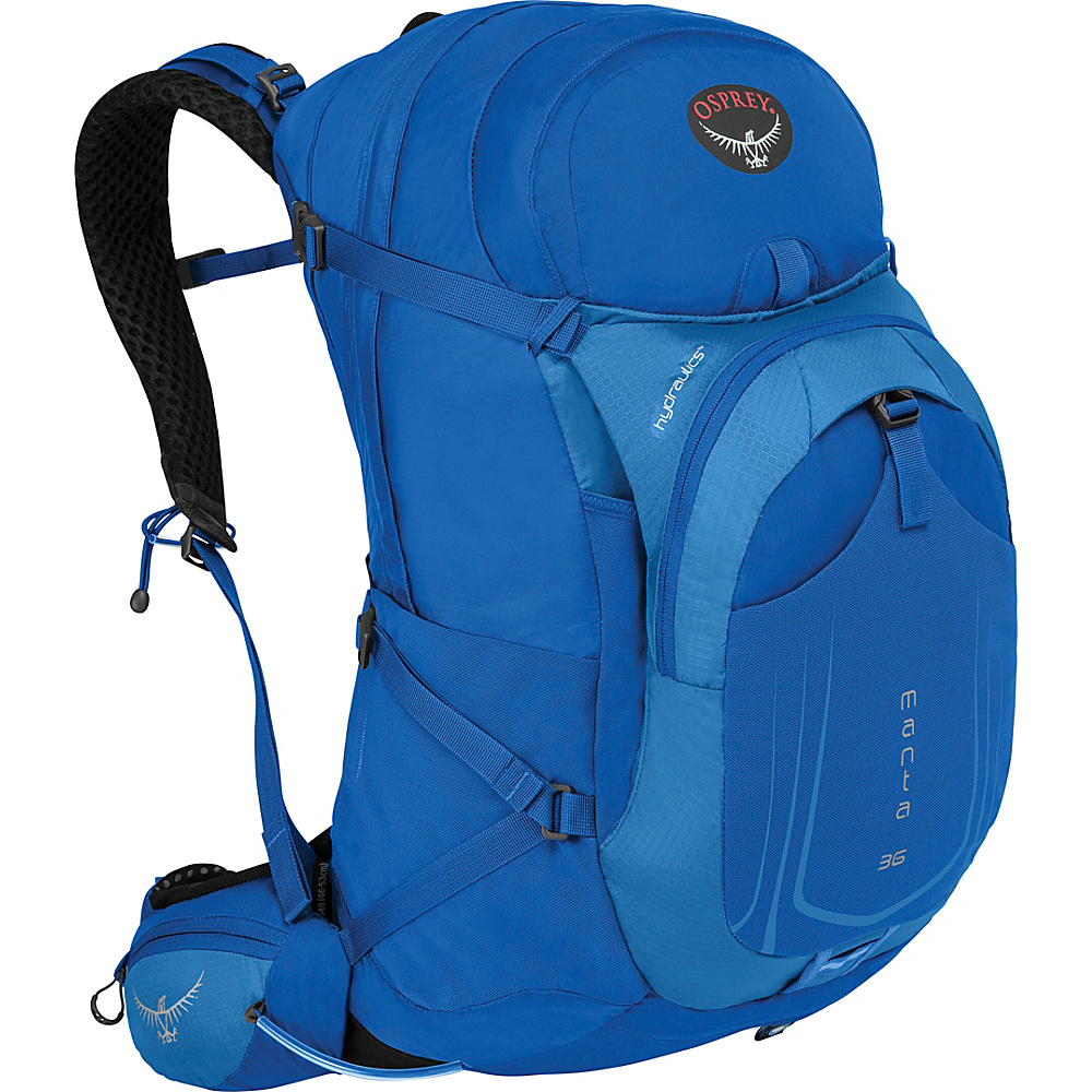 Osprey Manta AG 36 Hiking Pack Sonic Blue - S/M - Osprey Day Hiking Backpacks - Outdoor, Day Hiking Backpacks