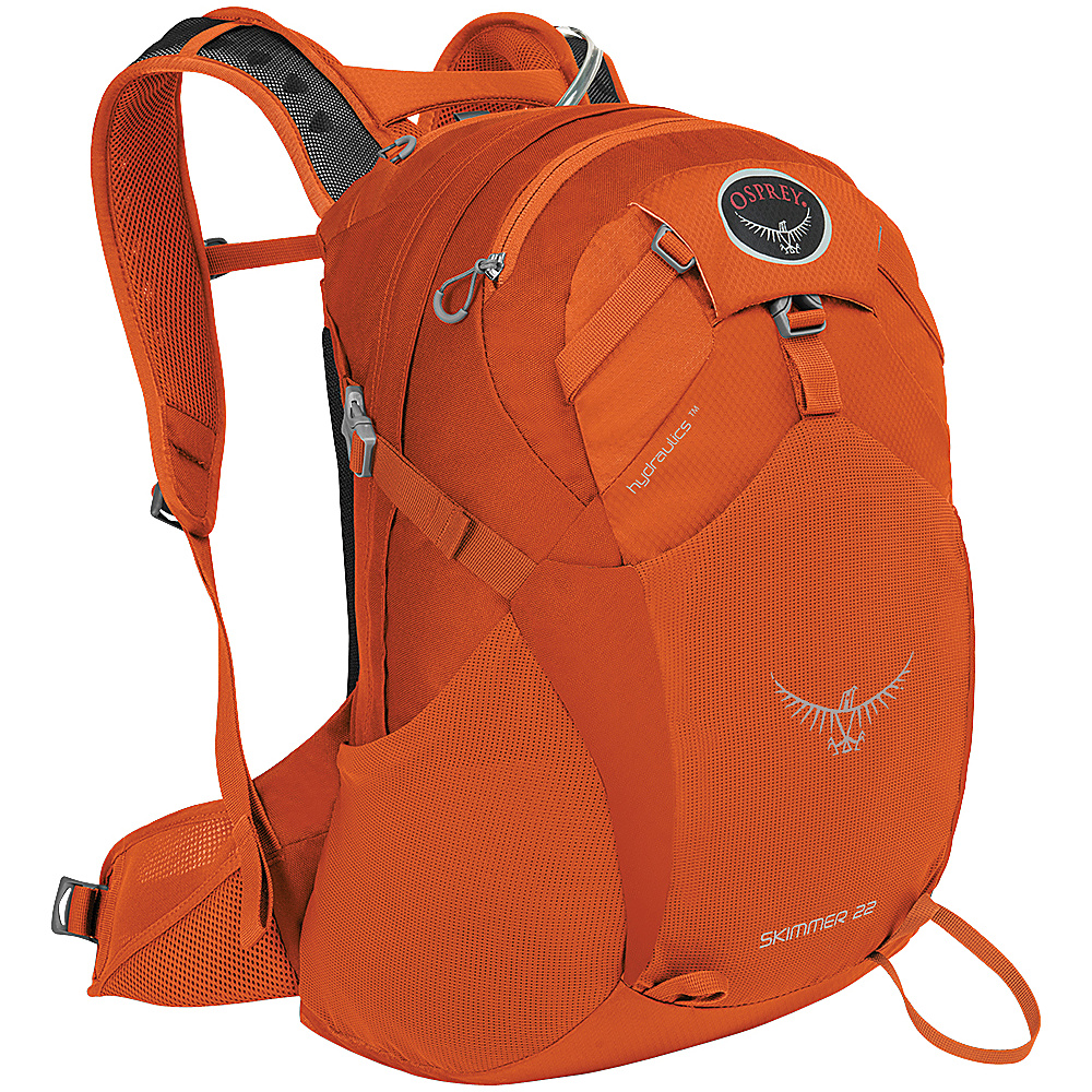 Osprey Skimmer 22 Hiking Backpack Coral Orange - XS/S - Osprey Day Hiking Backpacks - Outdoor, Day Hiking Backpacks