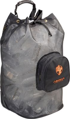 AKONA Rolling Mesh Backpack Black - AKONA Other Sports Bags