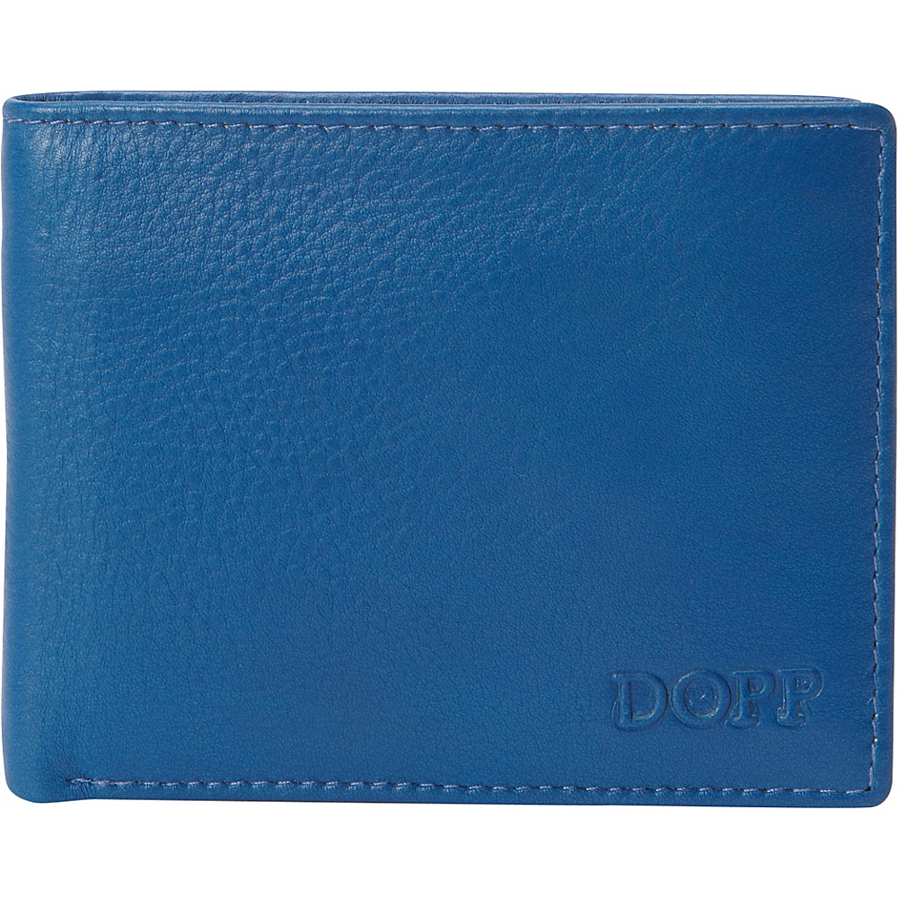 Dopp Tribeca RFID Slimfold Ultramarine w Black Dopp Men s Wallets