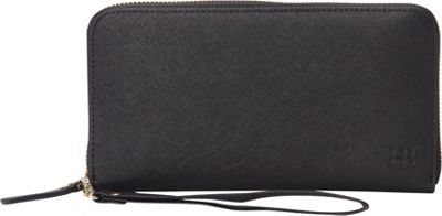 HButler The Mighty Purse Phone Charging Zipper Wallet Black - HButler Women's Wallets