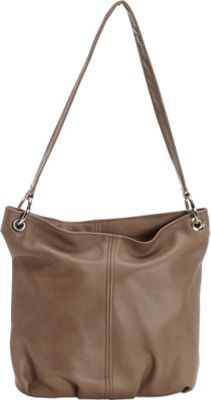 Victoria Leather Alana Tote Taupe - Victoria Leather Leather Handbags