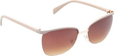 Unionbay Eyewear Metal Cat Eye Sunglasses Gold Taupe - Unionbay Eyewear Sunglasses