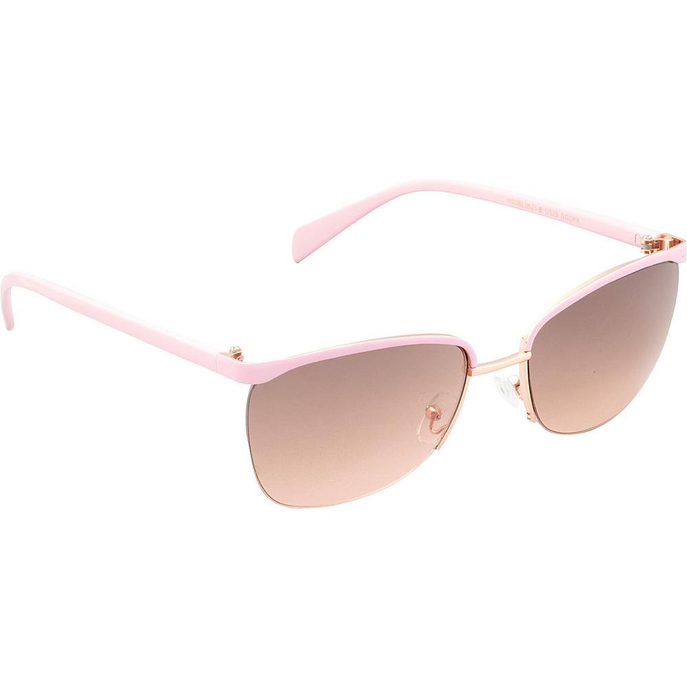 Unionbay Eyewear Metal Cat Eye Sunglasses Rosegold Pink Unionbay Eyewear Sunglasses