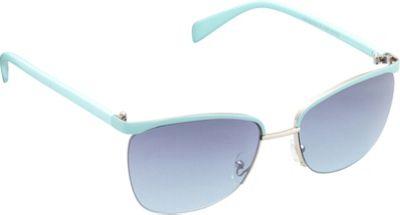 Unionbay Eyewear Metal Cat Eye Sunglasses Silver Aqua - Unionbay Eyewear Sunglasses