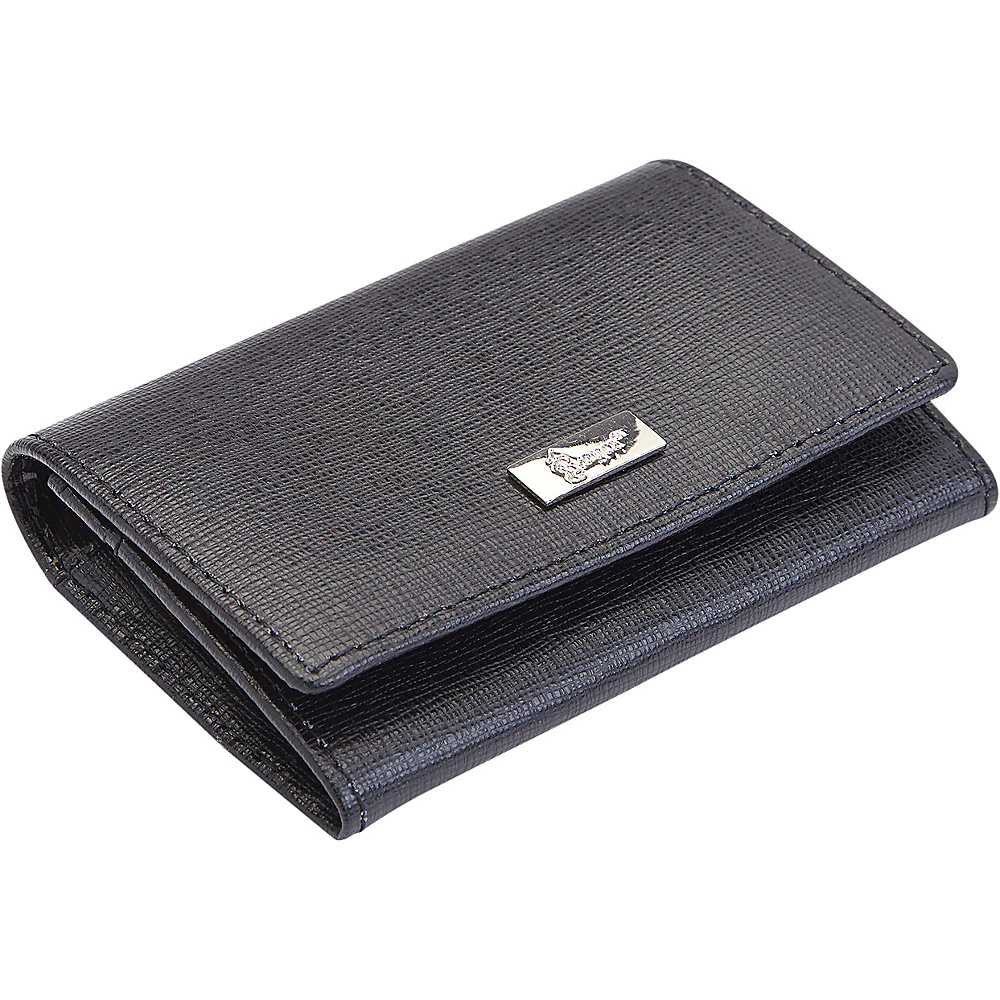 Royce Leather RFID Blocking Leather Business Card Case Black - Royce Leather Business Accessories - Work Bags & Briefcases, Business Accessories