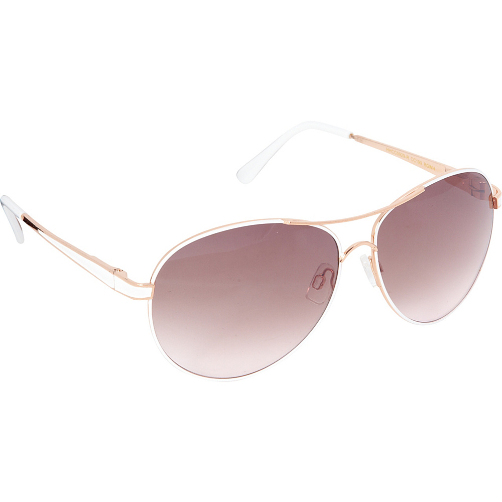 Circus by Sam Edelman Sunglasses Aviator Sunglasses Rose Gold White Circus by Sam Edelman Sunglasses Sunglasses