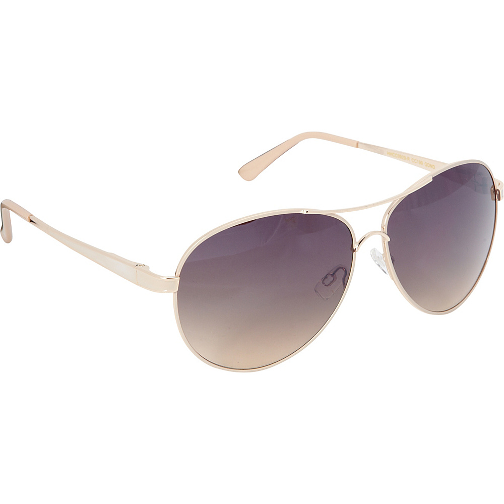 Circus by Sam Edelman Sunglasses Aviator Sunglasses Gold Nude Circus by Sam Edelman Sunglasses Sunglasses