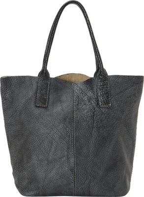 Journey Collection by Annette Ferber Amalfi Tote Charcoal/Black - Journey Collection by Annette Ferber Manmade Handbags
