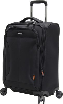 Pathfinder PX-10 20 inch Exp. Spinner Carry-On Black - Pathfinder Softside Carry-On