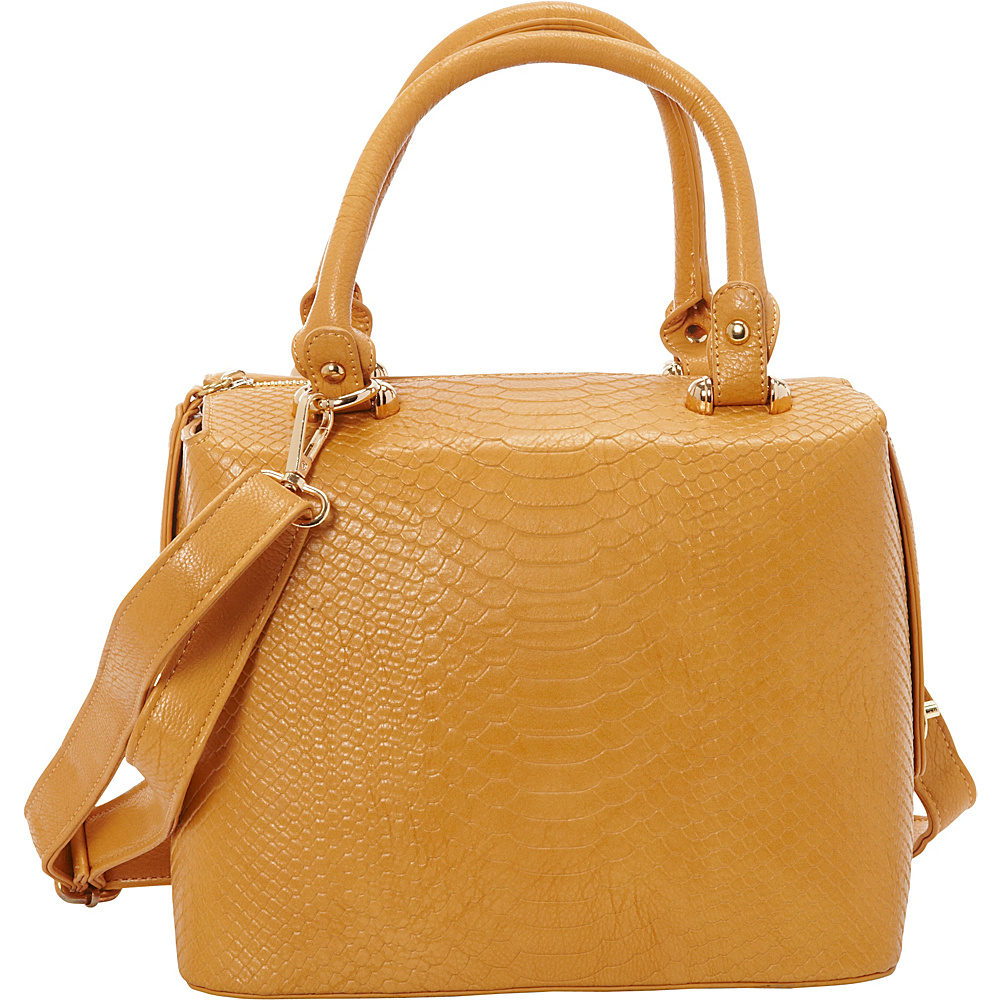 SW Global Leola Satchel Bag Yellow - SW Global Manmade Handbags - Handbags, Manmade Handbags