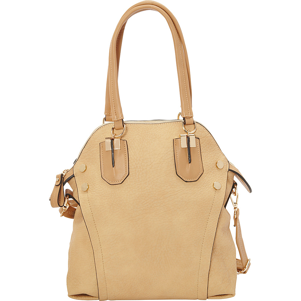 SW Global Ilene Tote Bag Beige - SW Global Manmade Handbags - Handbags, Manmade Handbags