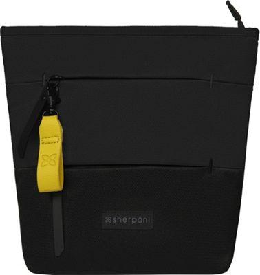 Sherpani Sadie RFID Recycled Everyday Medium Crossbody Raven - Sherpani Fabric Handbags