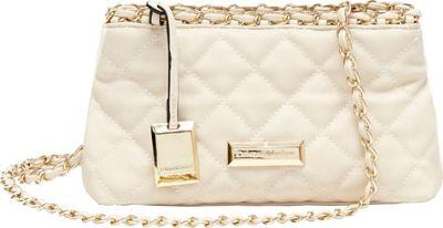 Catherine Malandrino Martine Crossbody Beige - Catherine Malandrino Manmade Handbags