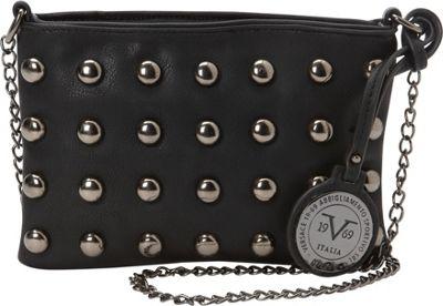 Image of 1969 V Italia Mithras Crossbody Black - 1969 V Italia Manmade Handbags