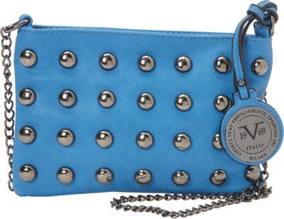 Image of 1969 V Italia Mithras Crossbody Blueberry - 1969 V Italia Manmade Handbags