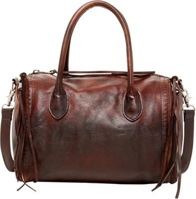 Old Trend Sunny Hill Satchel Chestnut-Coffee Ombre - Old Trend Leather Handbags