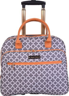 Jenni Chan Aria Broadway 18 inch Wheeled Tote Grey - Jenni Chan Softside Carry-On