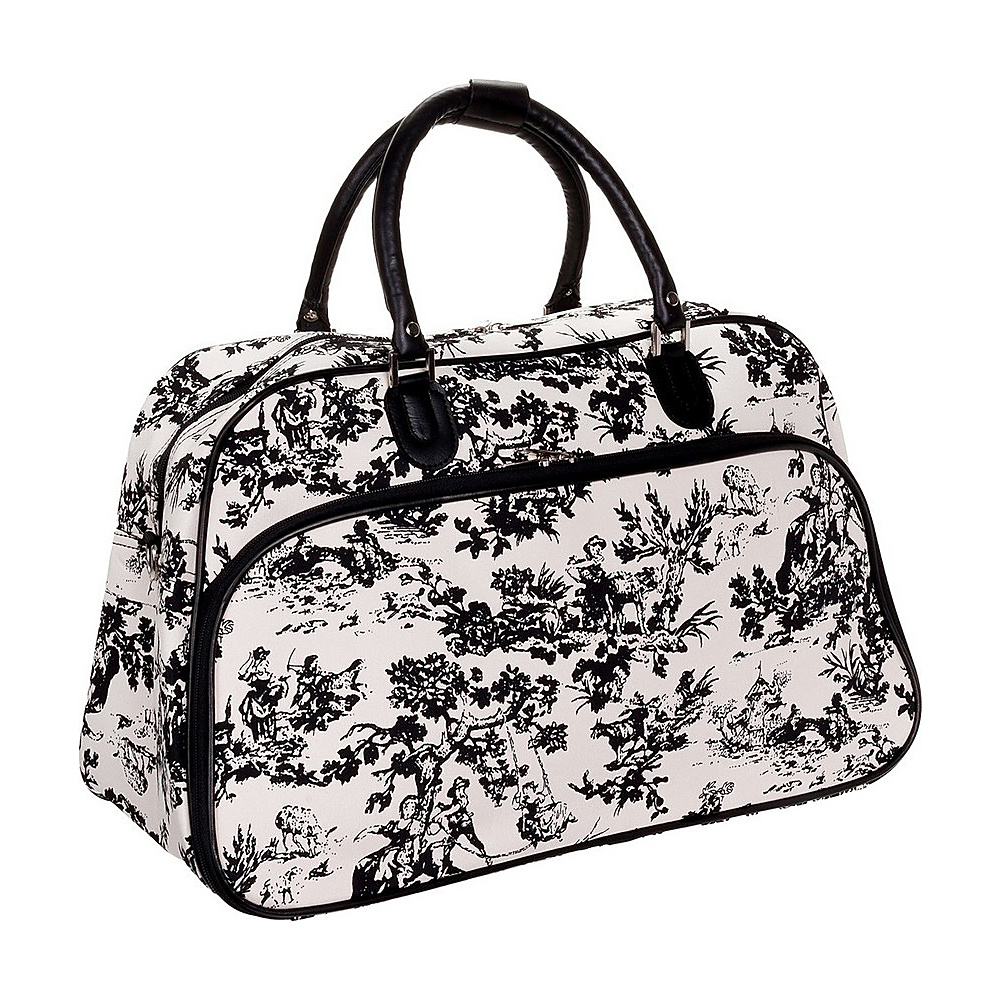 World Traveler Countryside White 21 Carry-On Duffel Bag Country White - World Traveler Rolling Duffels - Luggage, Rolling Duffels