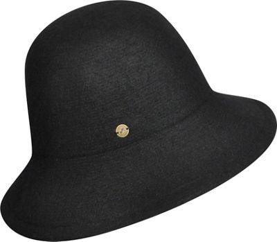 Karen Kane Hats Boiled Wool Floppy Hat One Size - Black - Karen Kane Hats Hats/Gloves/Scarves