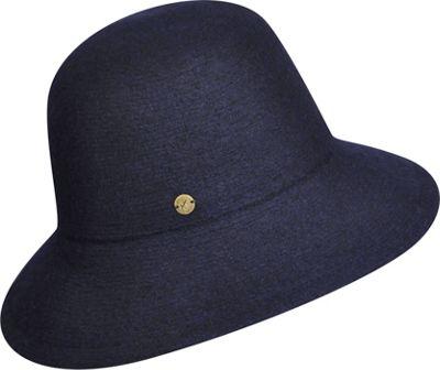 Karen Kane Hats Boiled Wool Floppy Hat One Size - Navy - Karen Kane Hats Hats/Gloves/Scarves