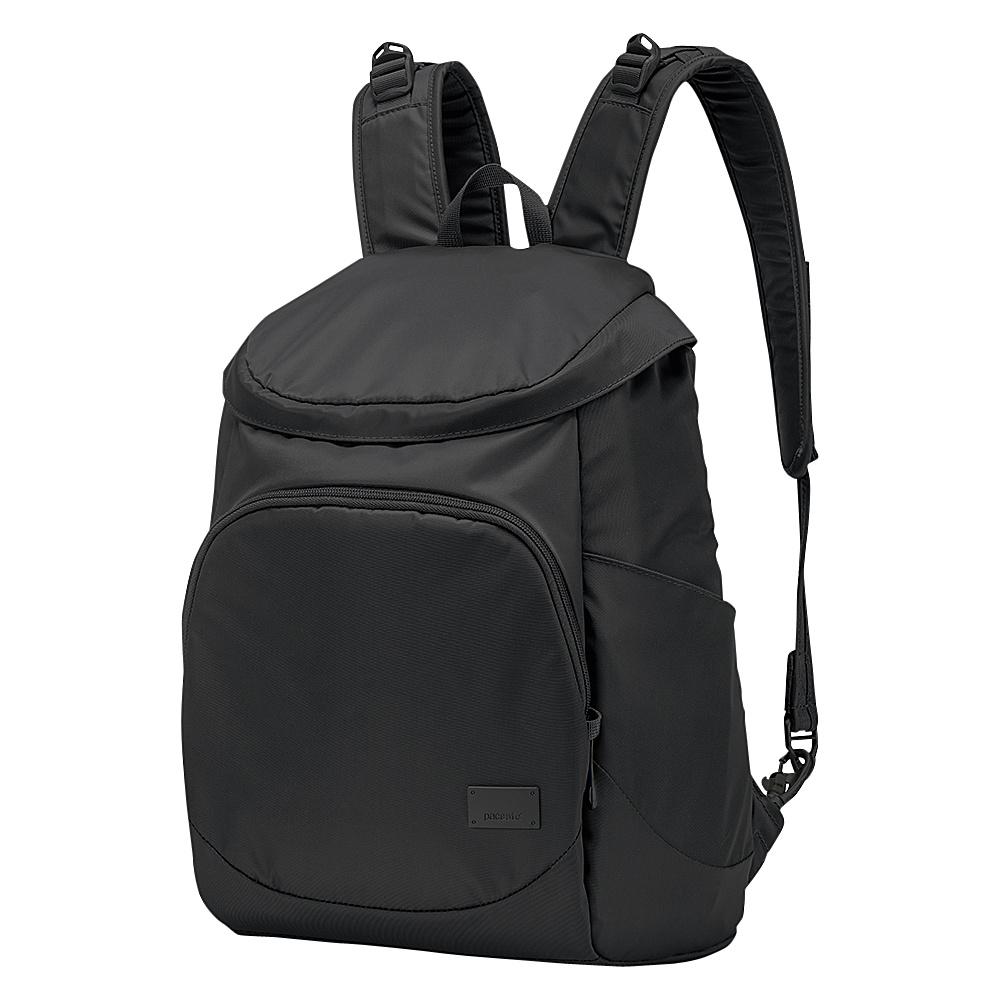Pacsafe Citysafe CS350 Anti-Theft Backpack Black - Pacsafe Fabric Handbags