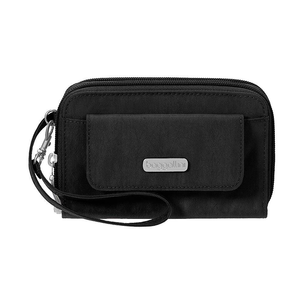 baggallini RFID Wallet Wristlet Black/Sand - baggallini Womens Wallets - Women's SLG, Women's Wallets
