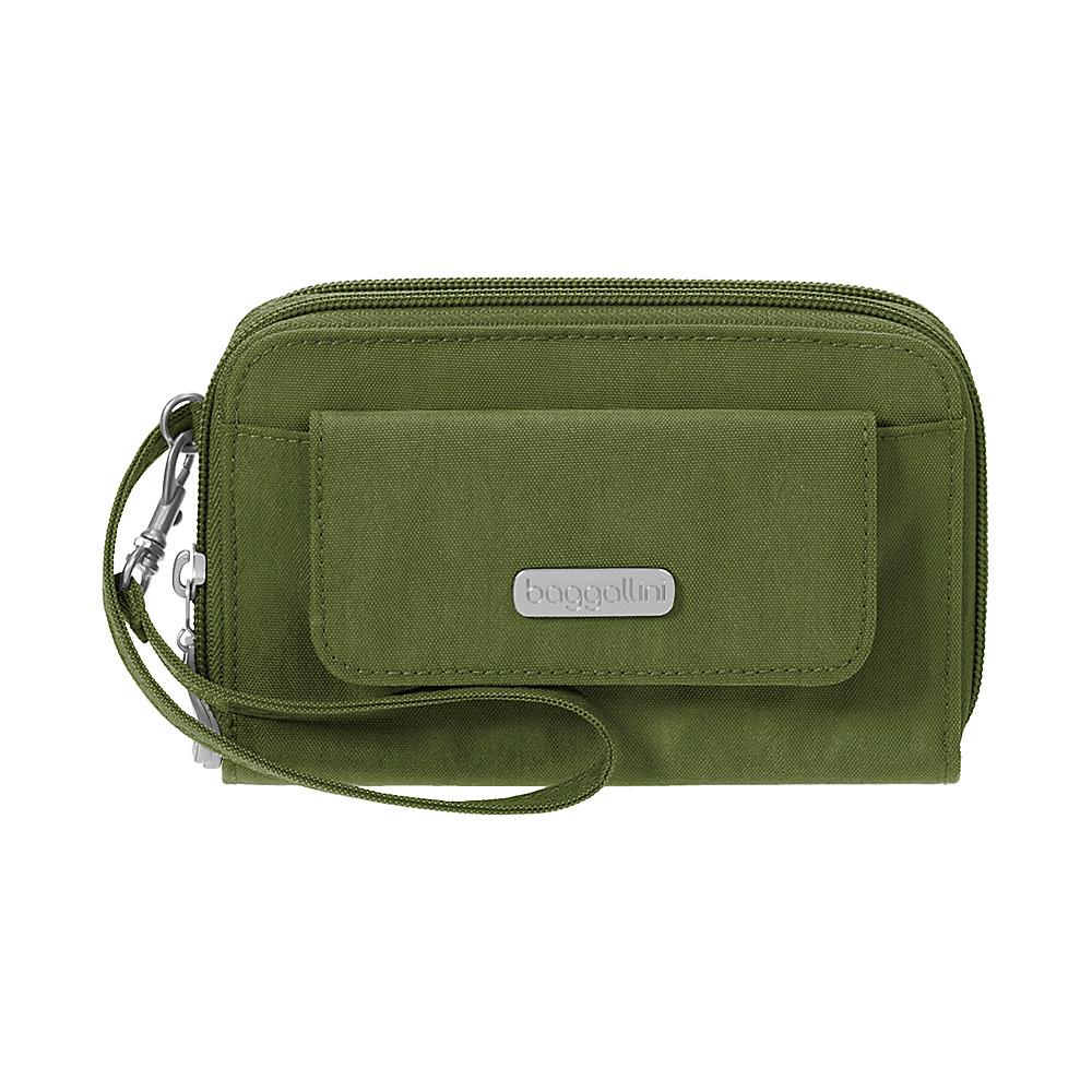 baggallini RFID Wallet Wristlet Moss - baggallini Womens Wallets - Women's SLG, Women's Wallets