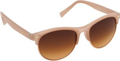 Jessica Simpson Sunwear Retro Sunglasses Nude - Jessica Simpson Sunwear Sunglasses