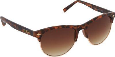 Jessica Simpson Sunwear Retro Sunglasses Tortoise Gold - Jessica Simpson Sunwear Sunglasses