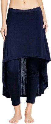 Magid Cotton Extra Long Skirt Leggings S/M - Navy - Magid Women's Apparel