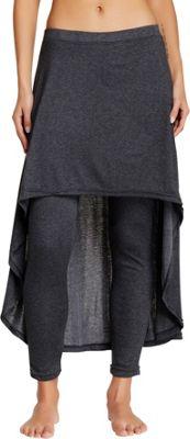 Magid Cotton Extra Long Skirt Leggings S/M - Grey - Magid Women's Apparel