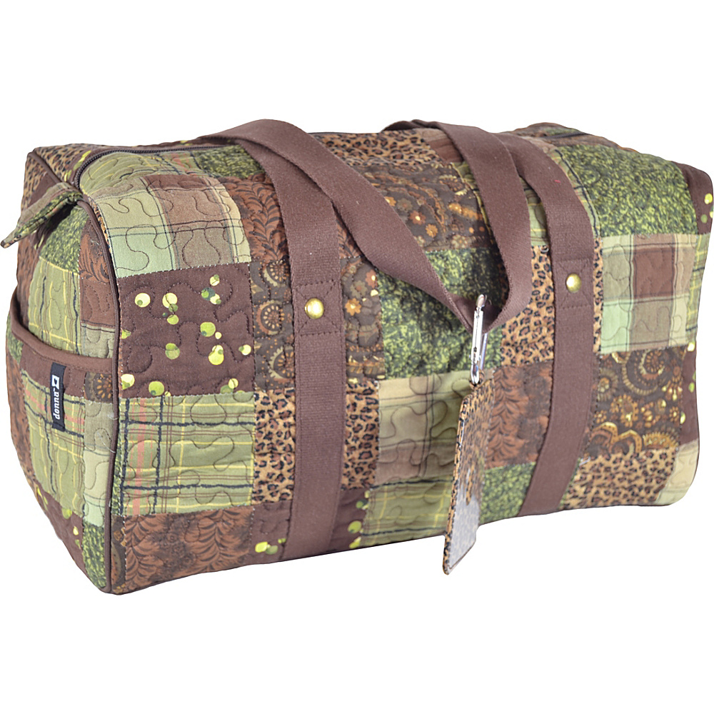 Donna Sharp Large Weekender Duffel Exclusive Safari Donna Sharp Travel Duffels