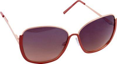 Nanette Nanette Lepore Sunglasses Glam High Fashion Sunglasses Rose Gold/Coral - Nanette Nanette Lepore Sunglasses Sunglasses