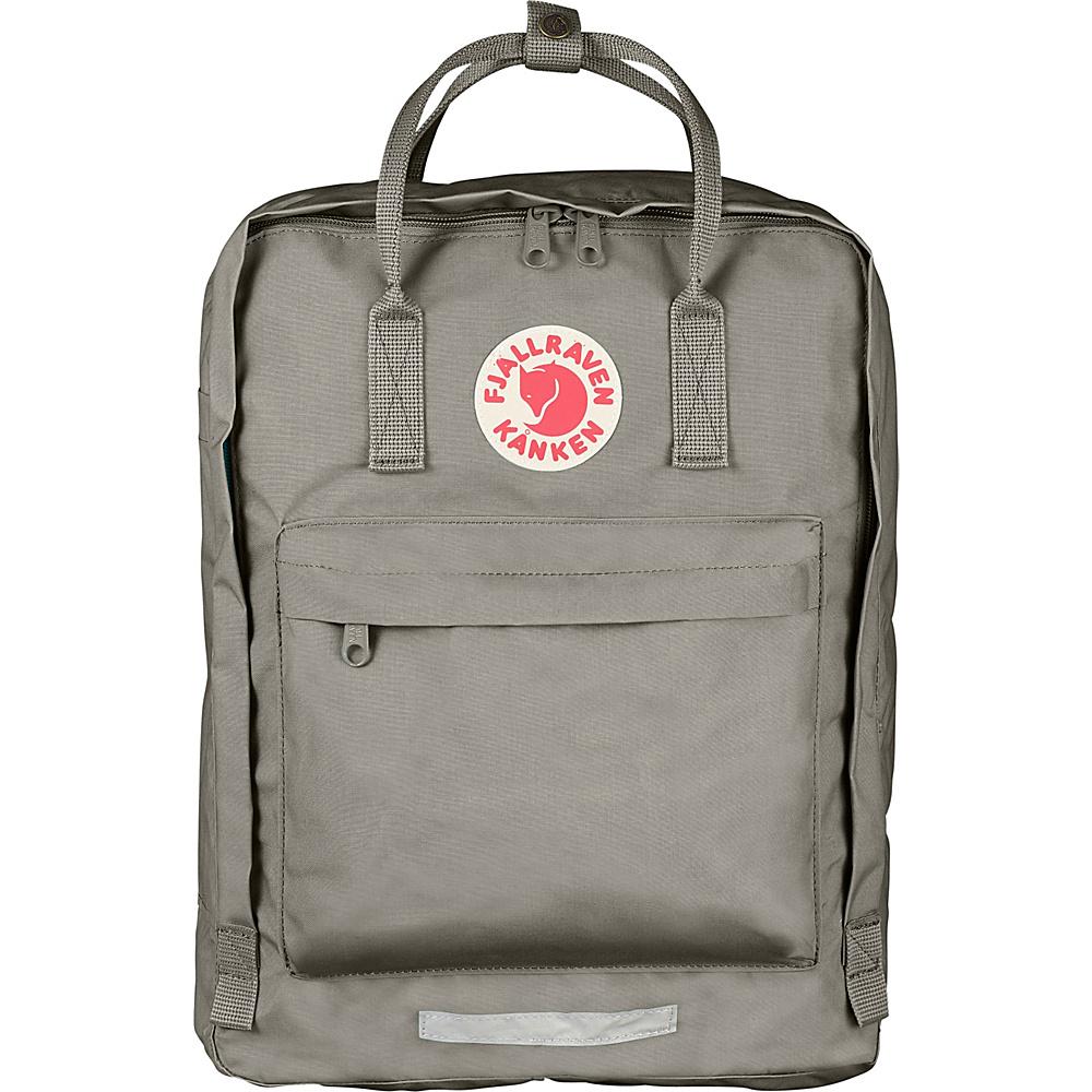 Fjallraven Kanken Big Backpack Fog Fjallraven Everyday Backpacks