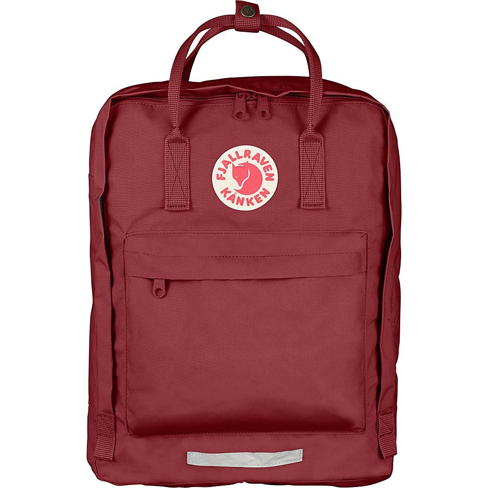 Fjallraven Kanken Big Backpack Ox Red - Fjallraven Everyday Backpacks - Backpacks, Everyday Backpacks
