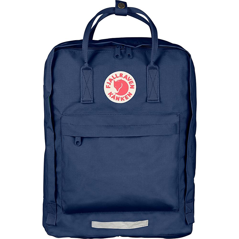 Fjallraven Kanken Big Backpack Royal Blue - Fjallraven Everyday Backpacks - Backpacks, Everyday Backpacks