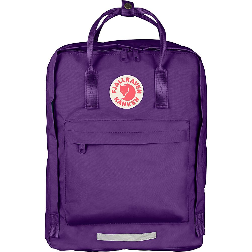Fjallraven Kanken Big Backpack Purple Fjallraven Everyday Backpacks
