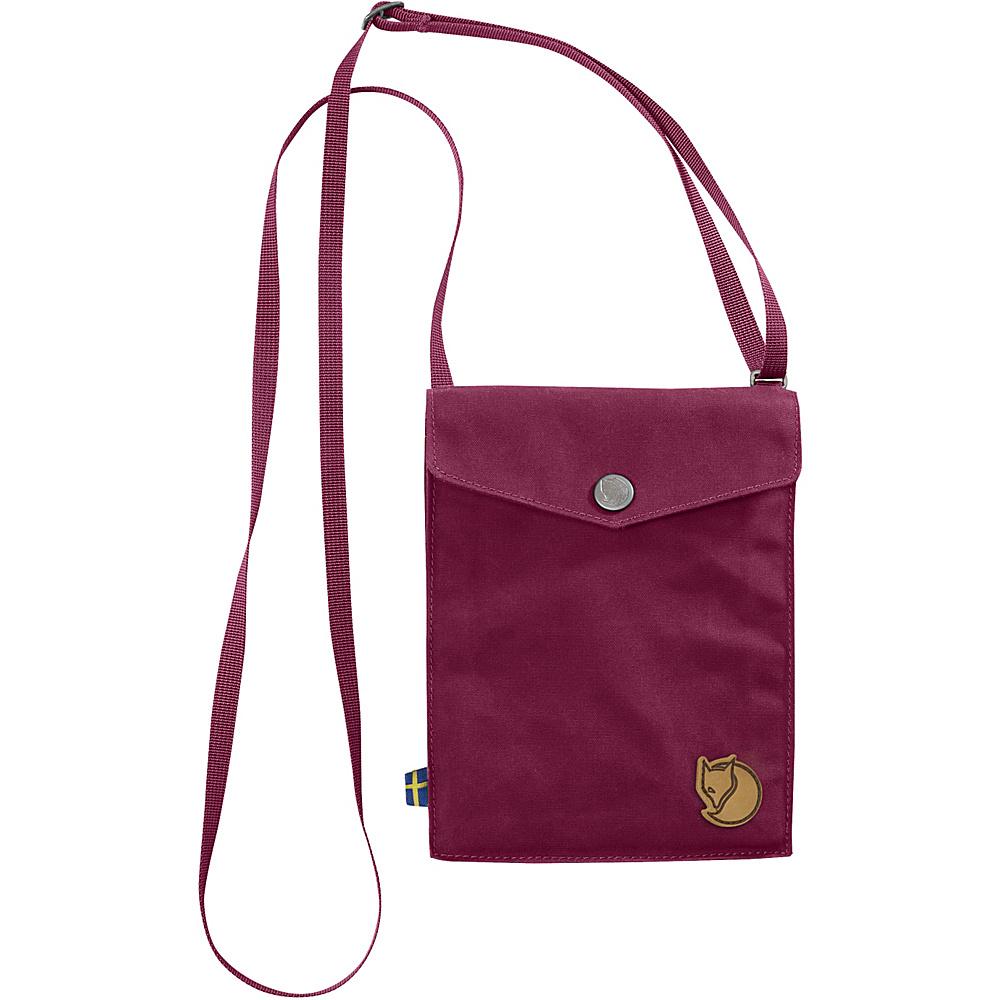 Fjallraven Pocket Crossbody Plum - Fjallraven Leather Handbags - Handbags, Leather Handbags